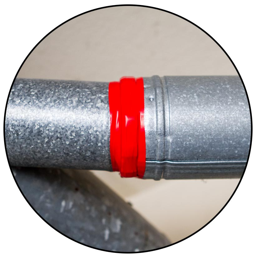 With Fuse It Tape self-fusing silicone tape, pipes and plumbing leaks are easily fixed.