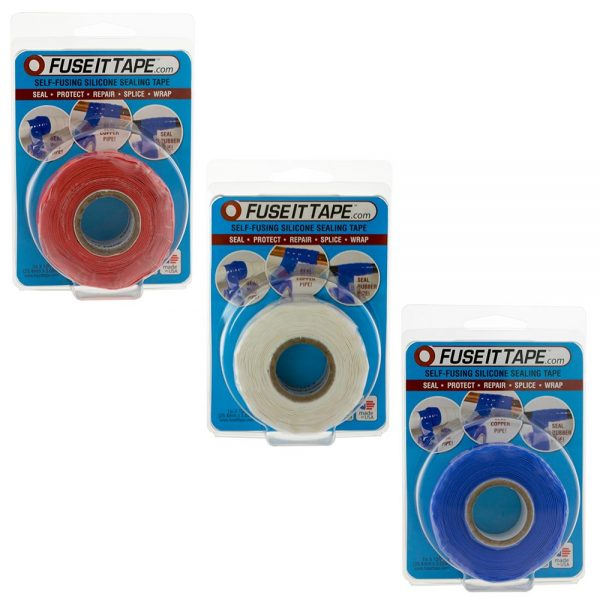 Fuse It Tape 'Murrica 3-pack. These colors don't run, they bond.