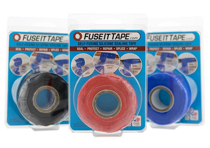 Fuse It Tape self-fusing silicone sealing tape