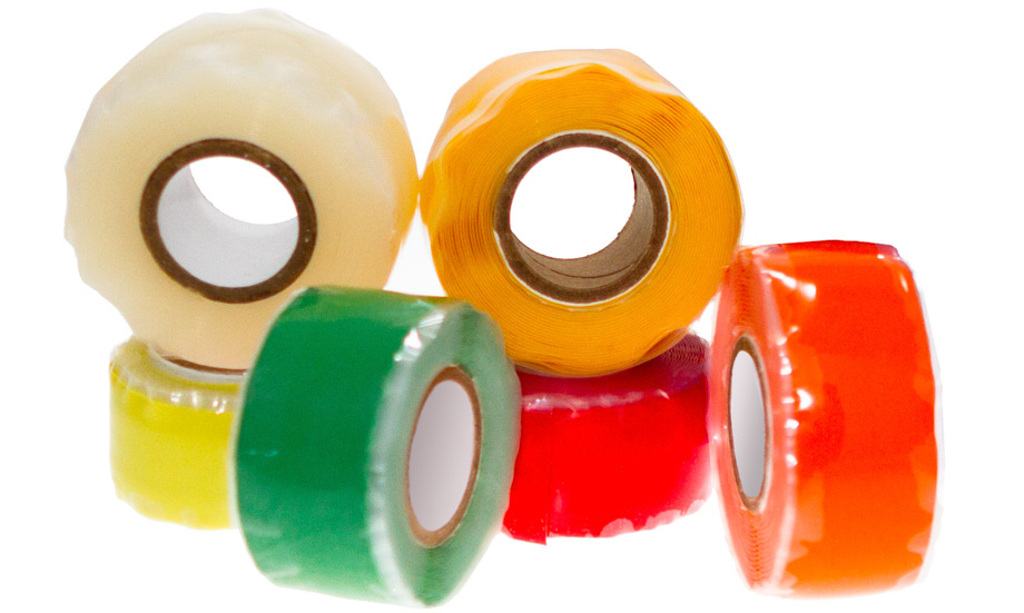 Fuse it Tape: Self-fusing silicone tape. Variety of colors.