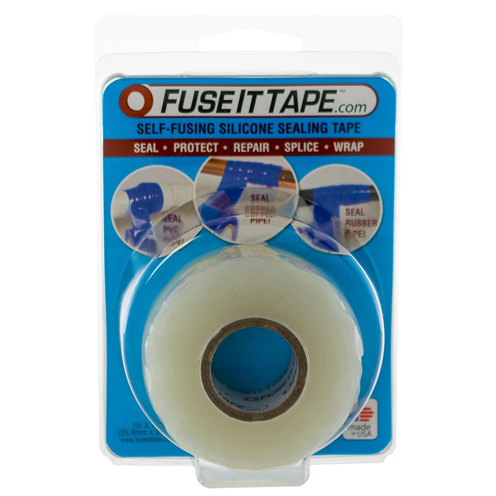 Fuse It Tape self-fusing silicone tape (clear).